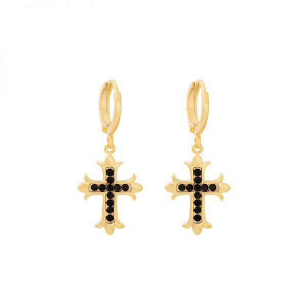Oorbellen Holy Cross gd
