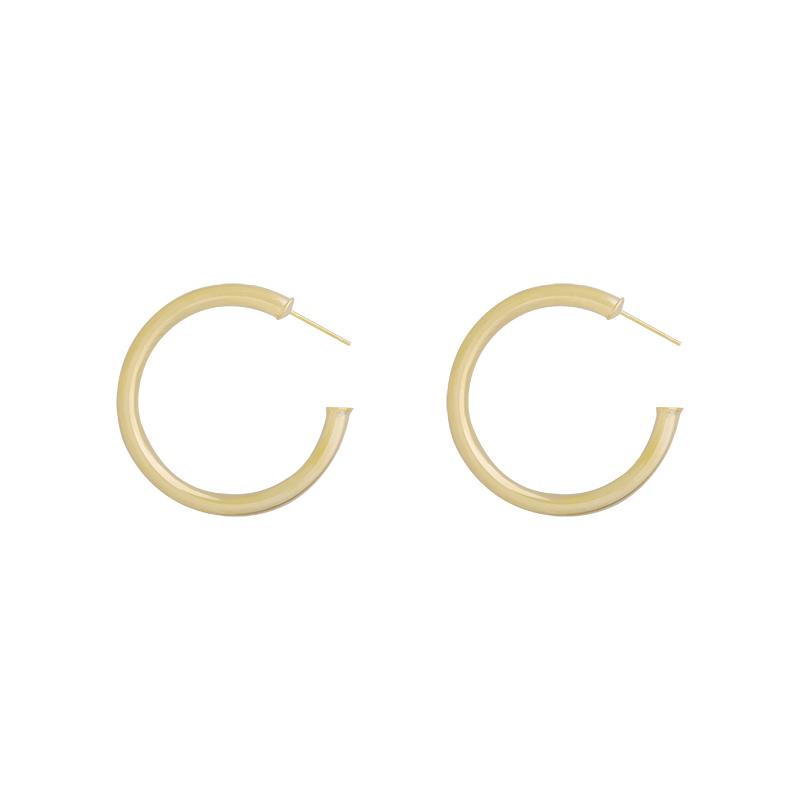 Gouden Oorbellen Urban Creoles 4cm