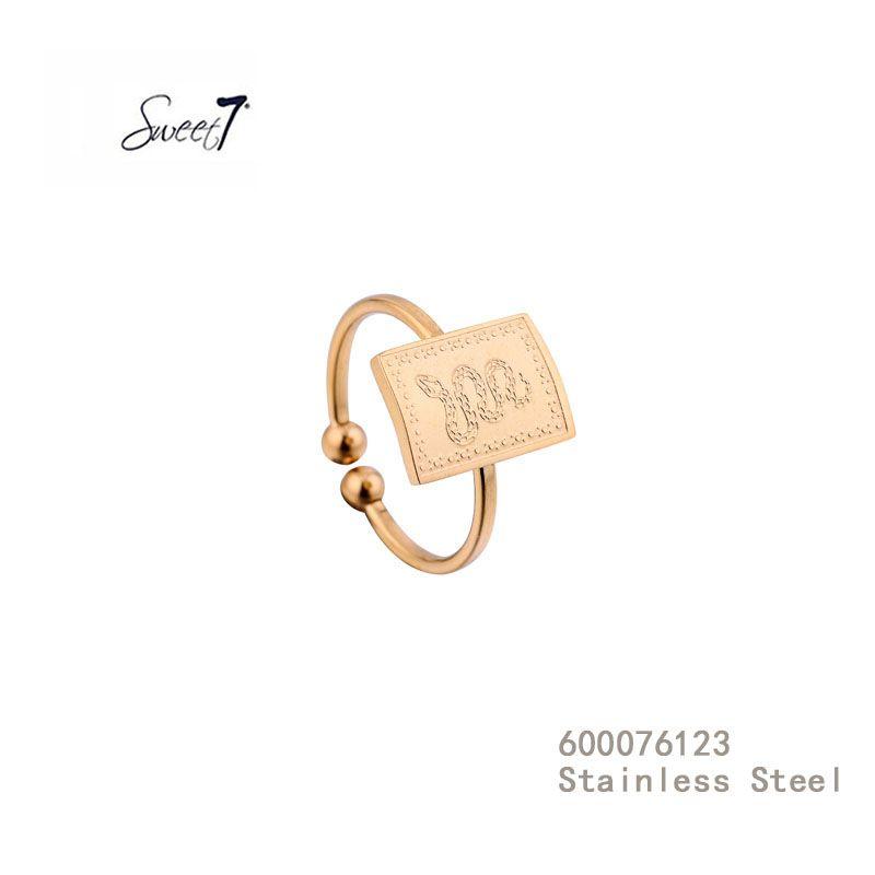 Gouden Ring met slang van Sweet7
